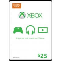 $25 XBOX GIFTCARD USA