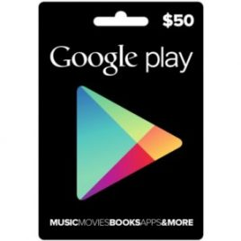 $50 Google Play USA Gift Card