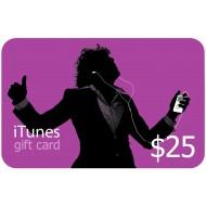 ITUNES $25 USA