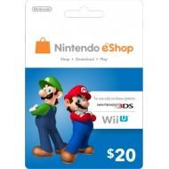 NINTENDO ESHOP $20 USA