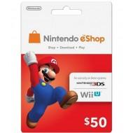 NINTENDO ESHOP $50 USA