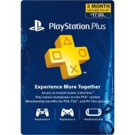 PLAYSTATION PLUS 3 MESES U.S.A