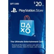 PSN $20 Gift Card U.S.A.