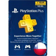 PLAYSTATION PLUS 12 MESES CHILE