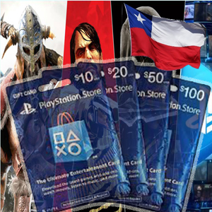 gifcard playstation chile