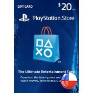 PSN $20 Gift Card CHILE