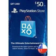 PSN $50 Gift Card CHILE