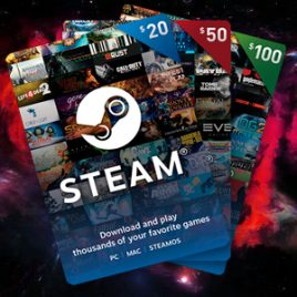 STEAM WALLET $10 USD